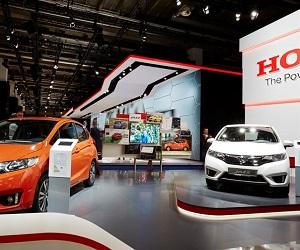 Honda at Frankfurt Motor Show 2015